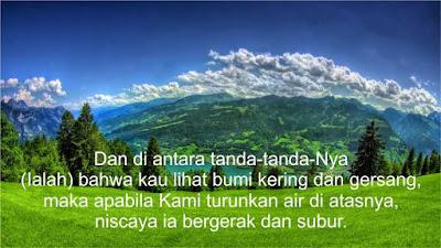 ayat ayat alqur'an tentang bumi