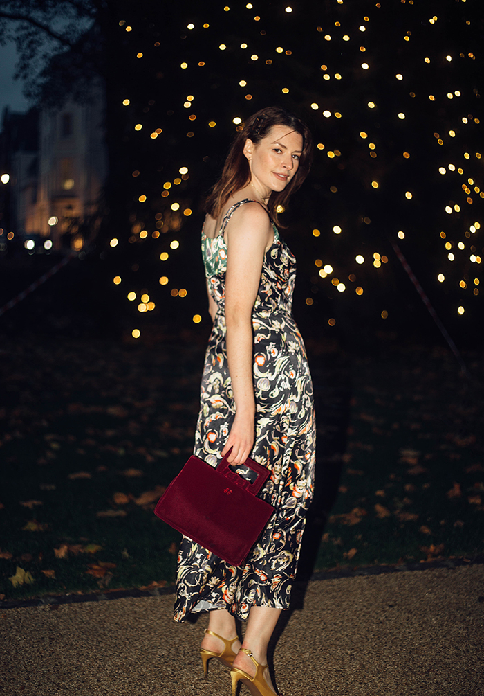 FINERY LONDON PALOMA DRESS REVIEW | LONDON FASHION BLOGGER