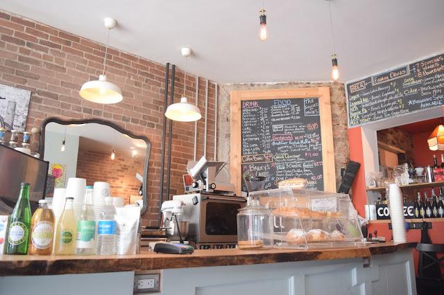 Black Cat Espresso Bar - Saturday Afternoon Coffee Date - TheCraftyMann.Blogspot.Ca