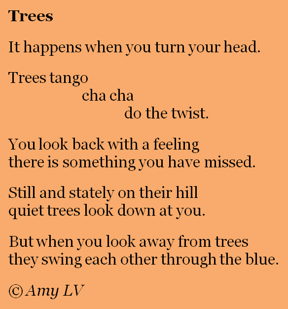 The Poem Farm Poem 325 Catches Trees Dancing A collection of tree poems, as well as verses about nature, forests, woods, leaves, seasons, and more. the poem farm