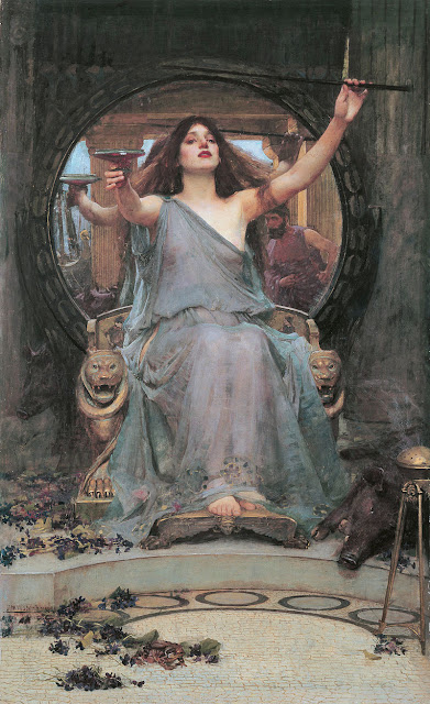 John William Waterhouse   Circe. Offering the Cup to Odysseus