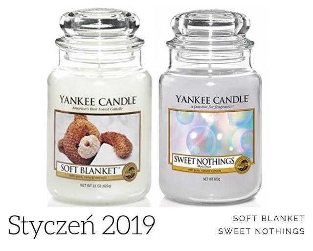 zapach miesiąca yankee candle styczeń 2019