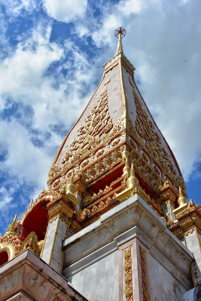 Wat Chalong Temple Phuket tower
