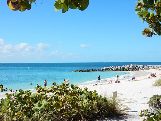 melhor praia key west