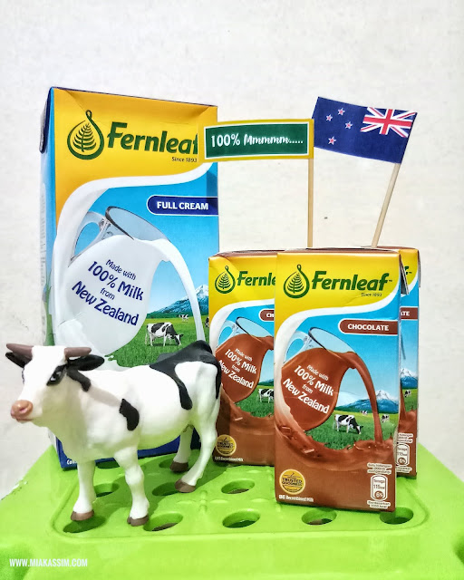 FERNLEAF UHT | KEBAIKAN SUSU DARI NEW ZEALAND YANG 100% Mmmmm