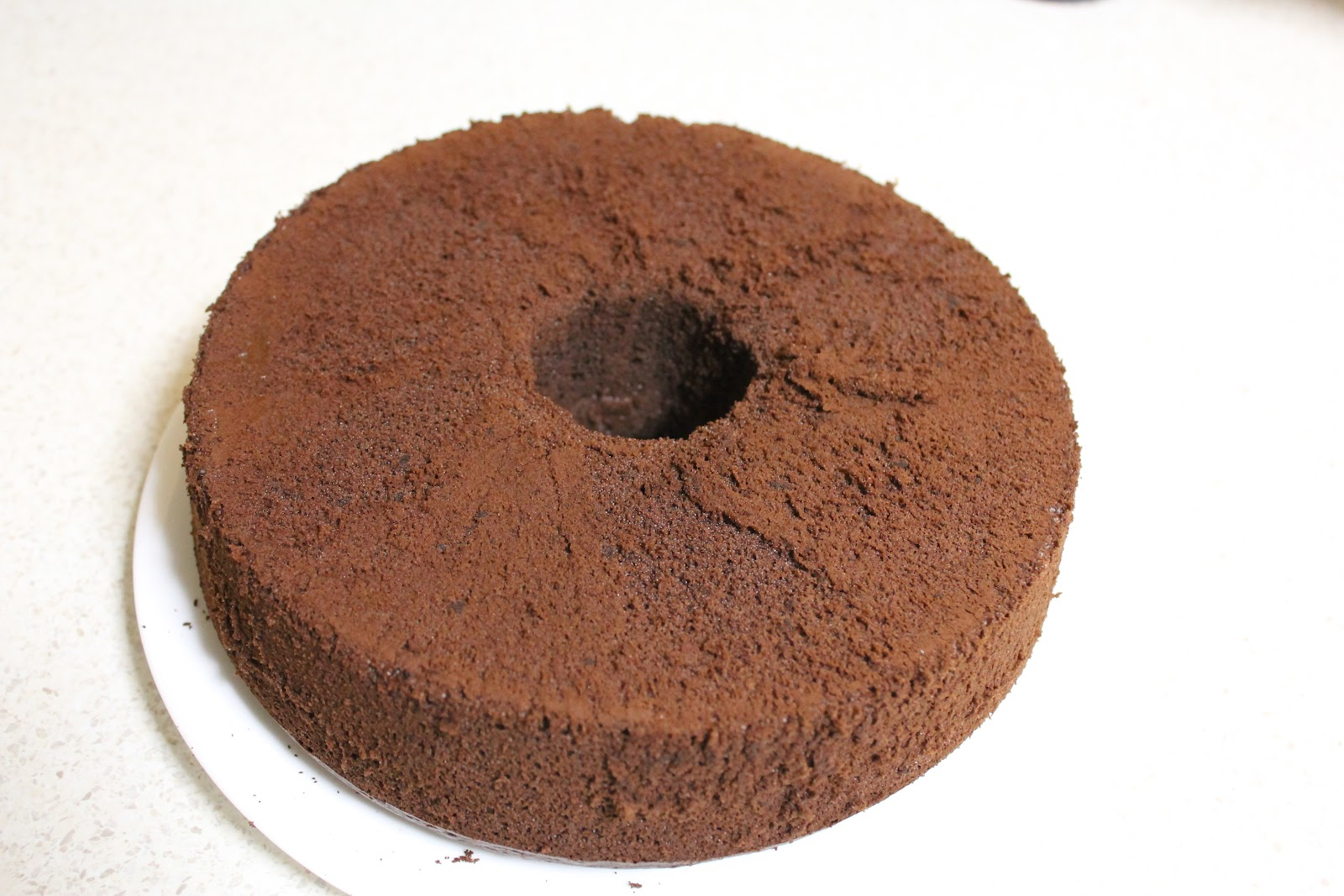 Chocolate Cake Recipe Japanese: Simple Delights: Japaneses Dark Pearl Chocolate Chiffon Cake
