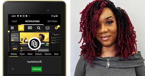 Tavonia Evans, founder of NU social media platform
