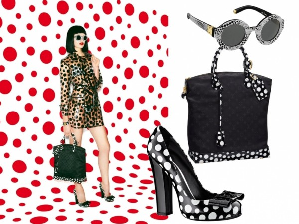 d5519f177ce FIRST LOOK: LOUIS VUITTON X YAYOI KUSAMA... THE DOTS ARE HERE ...