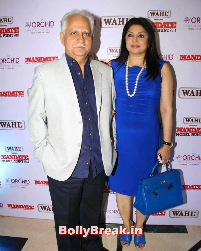Ramesh Sippy, Kiran Juneja, Mandate Model Hunt 2014 Grand Finale Photo Gallery