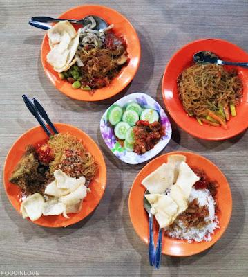 Nasi uduk mak sum Jagoannya Kuliner mangga 2, jakarta