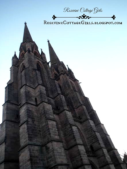 face of saint elizabeth's church marburg germany