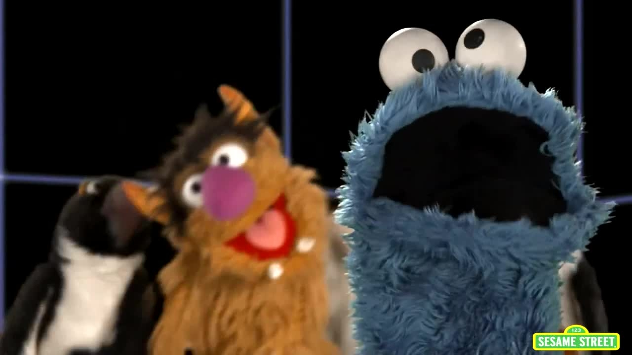 sesame street cookie monster sketches - Video Search ...