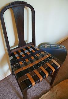 DIY Belt Chair