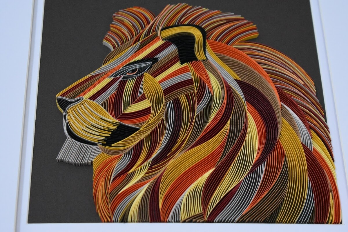 06-African-Lion-Portrait-Tatiana-People-and-Animal-Portraits-plus-Flower-Quilling-www-designstack-co