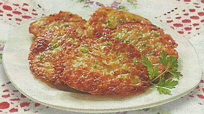 Необходимые продукты для приготовления Драников с сыром