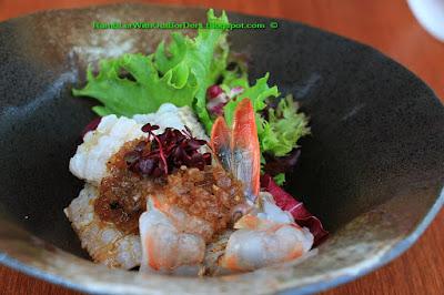 yellowtail with Matsuhisa dressing, Nobu restaurant, KL, Malaysia