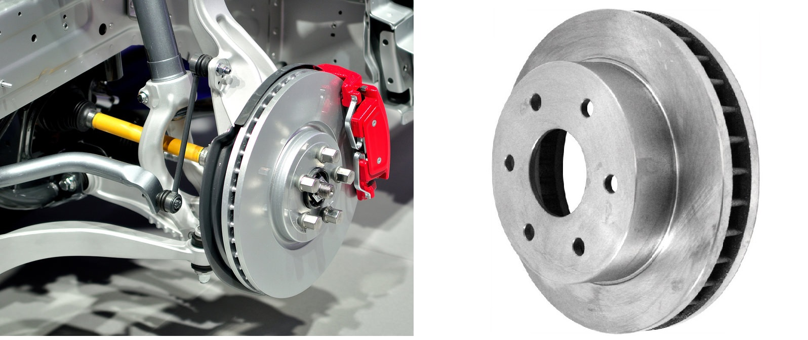 Mostly In Cars Instead Of Disc With Holes A Vented Is Used As Shown Figure Above Hollow Es Are Kept Between Two Plates For