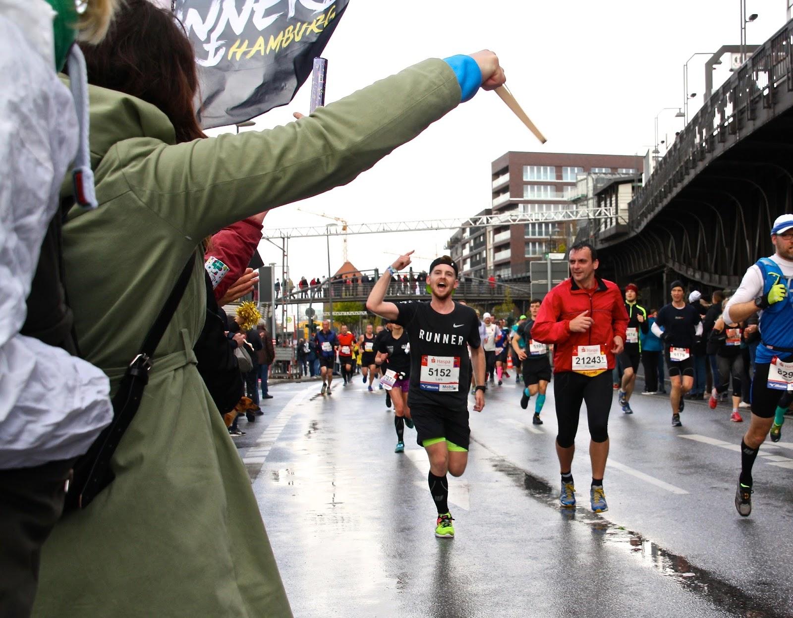 Haspa Hamburg Marathon Tide Runners Landungsbrücken
