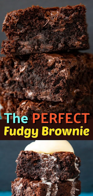 The Best Chewy, Fudgy Brownie