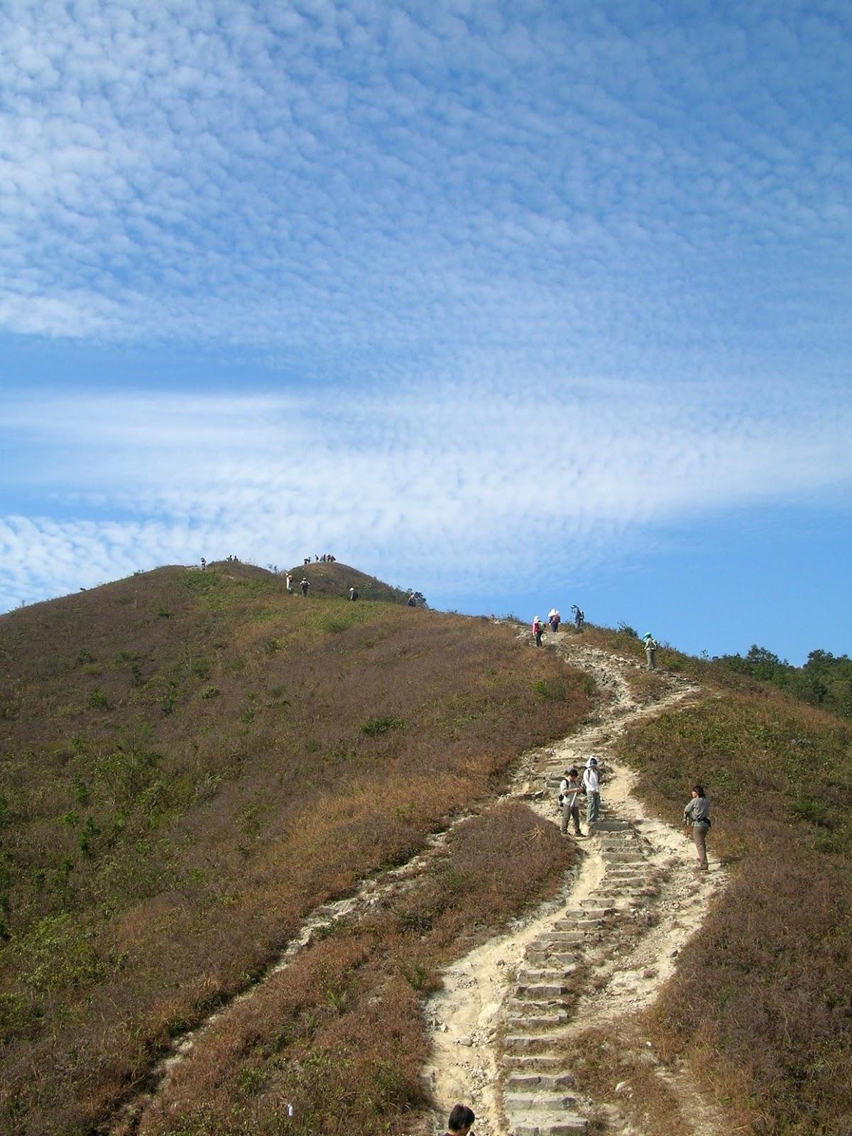 .. 夢飛翔: 鹿頸 + 嶂上 西灣山