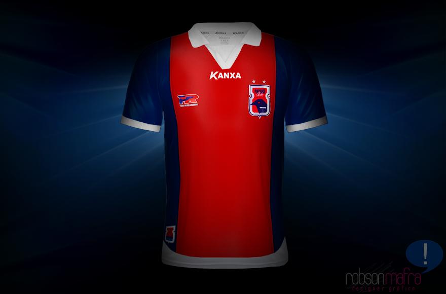 Camisa Oficial III Paraná Clube Kanxa 2012 away
