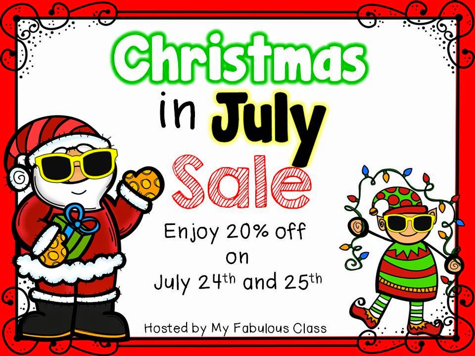 Christmas In July Sale Ideas.Reading And Writing Redhead Christmas In July Sale Continues