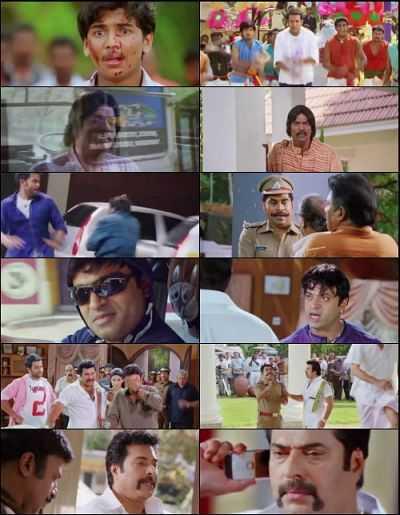 Pokkiri Raja (2010) Hindi - Malayalam - Tami Download 500mb BluRay