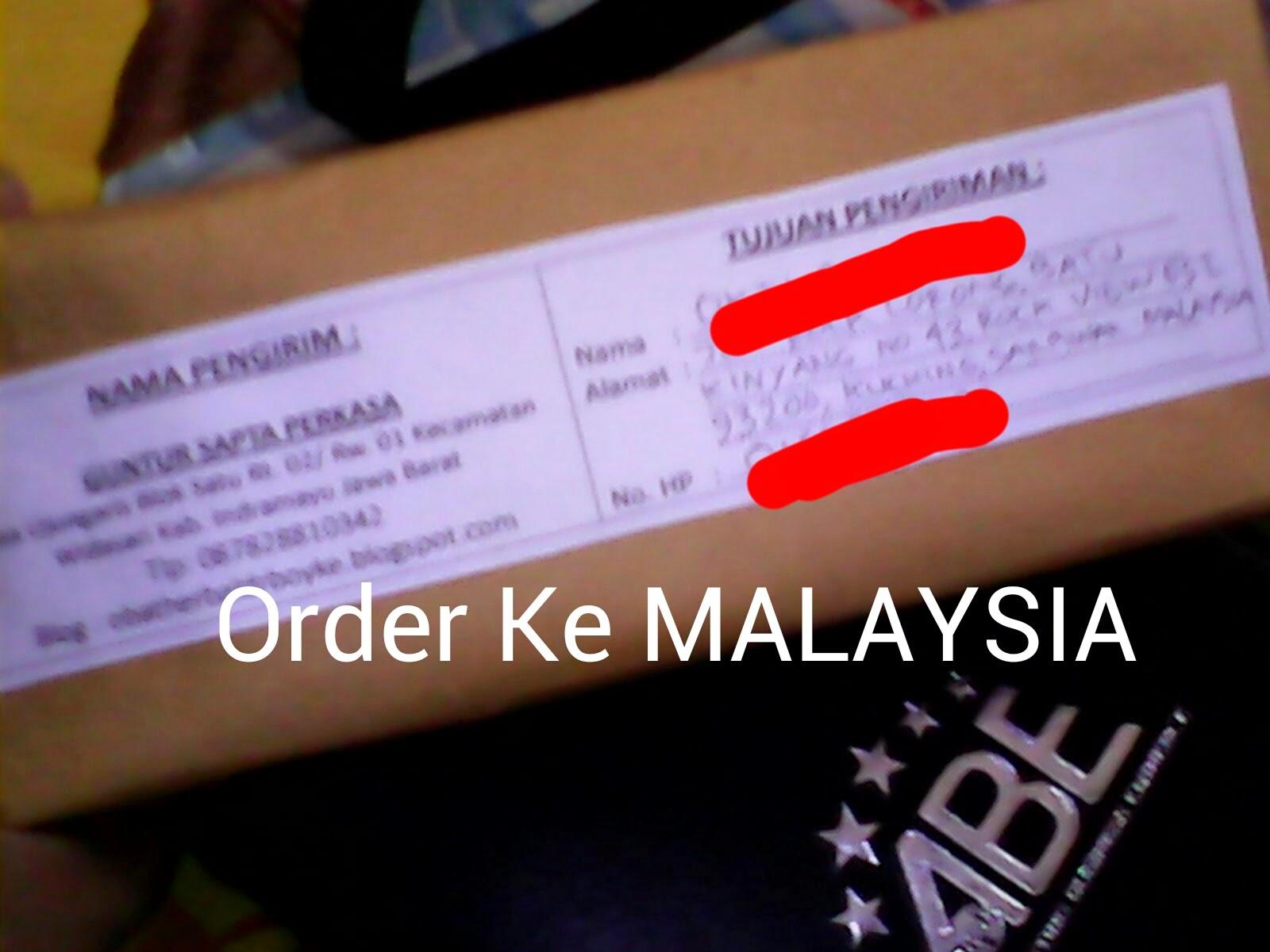 Order Ladyfem Ke Malaysia