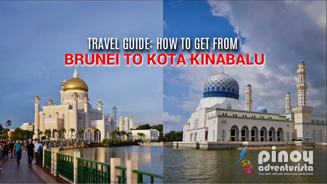 TRAVEL FROM BRUNEI TO KOTA KINABALU MALAYSIA AND TO BRUNEI