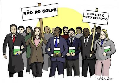Resultado de imagem para o golpe no Brasil?