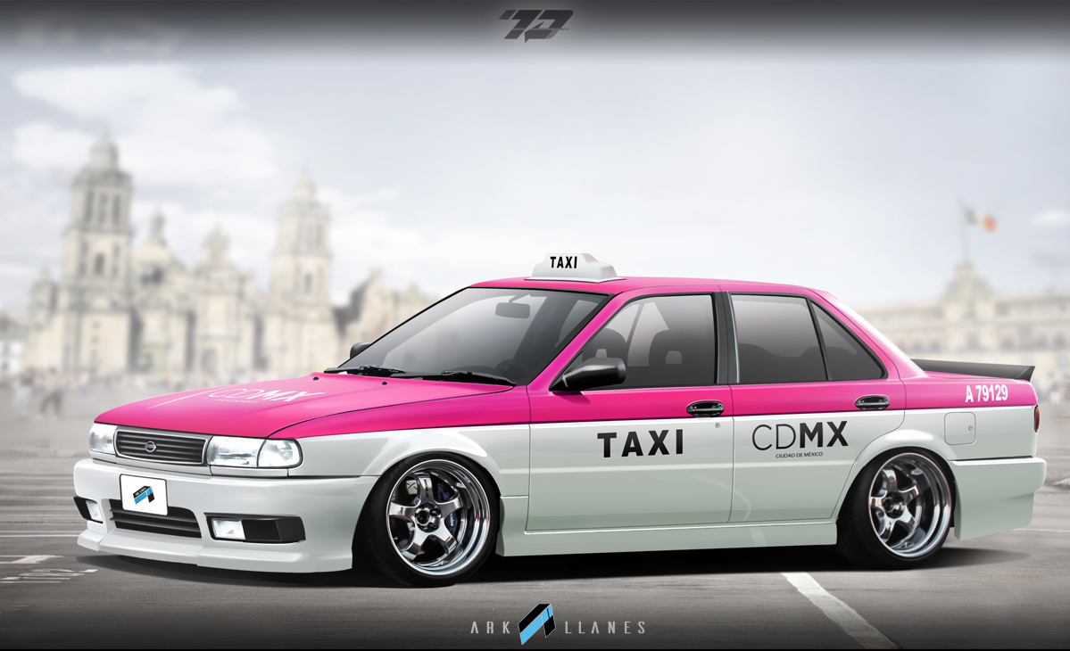 Virtual Tuning Studio, by Ark Llanes: Nissan Sunny, Sentra ...