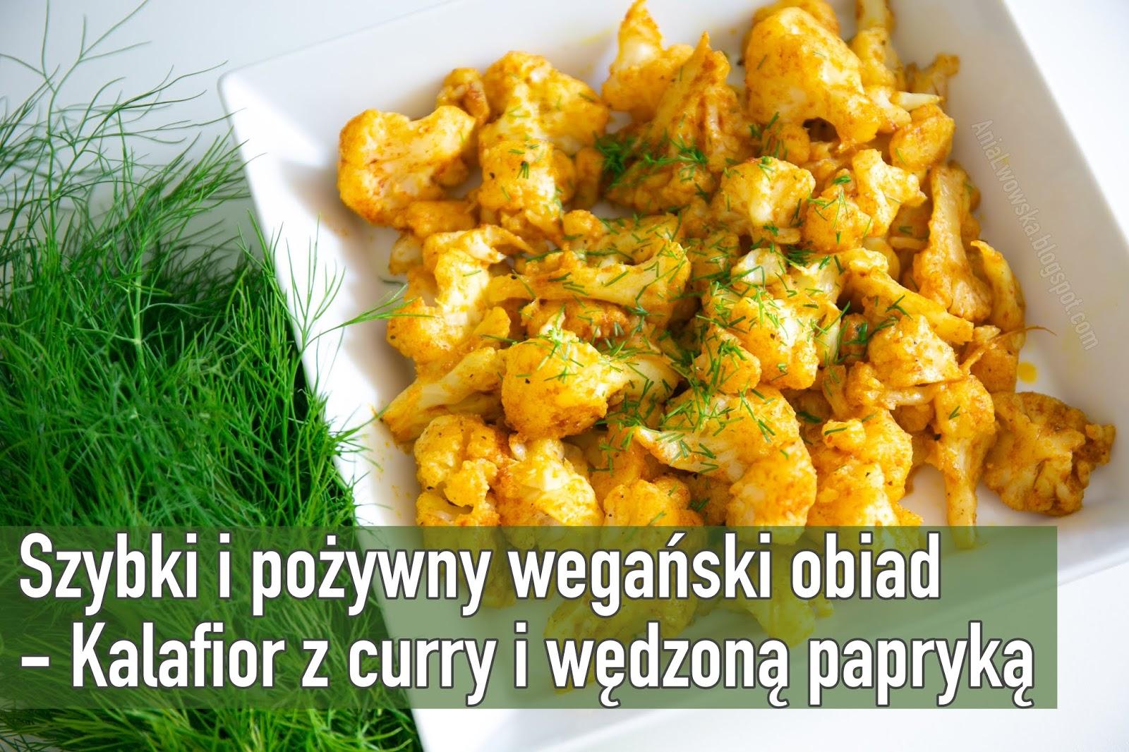 Kalafior z curry i wędzoną papryką