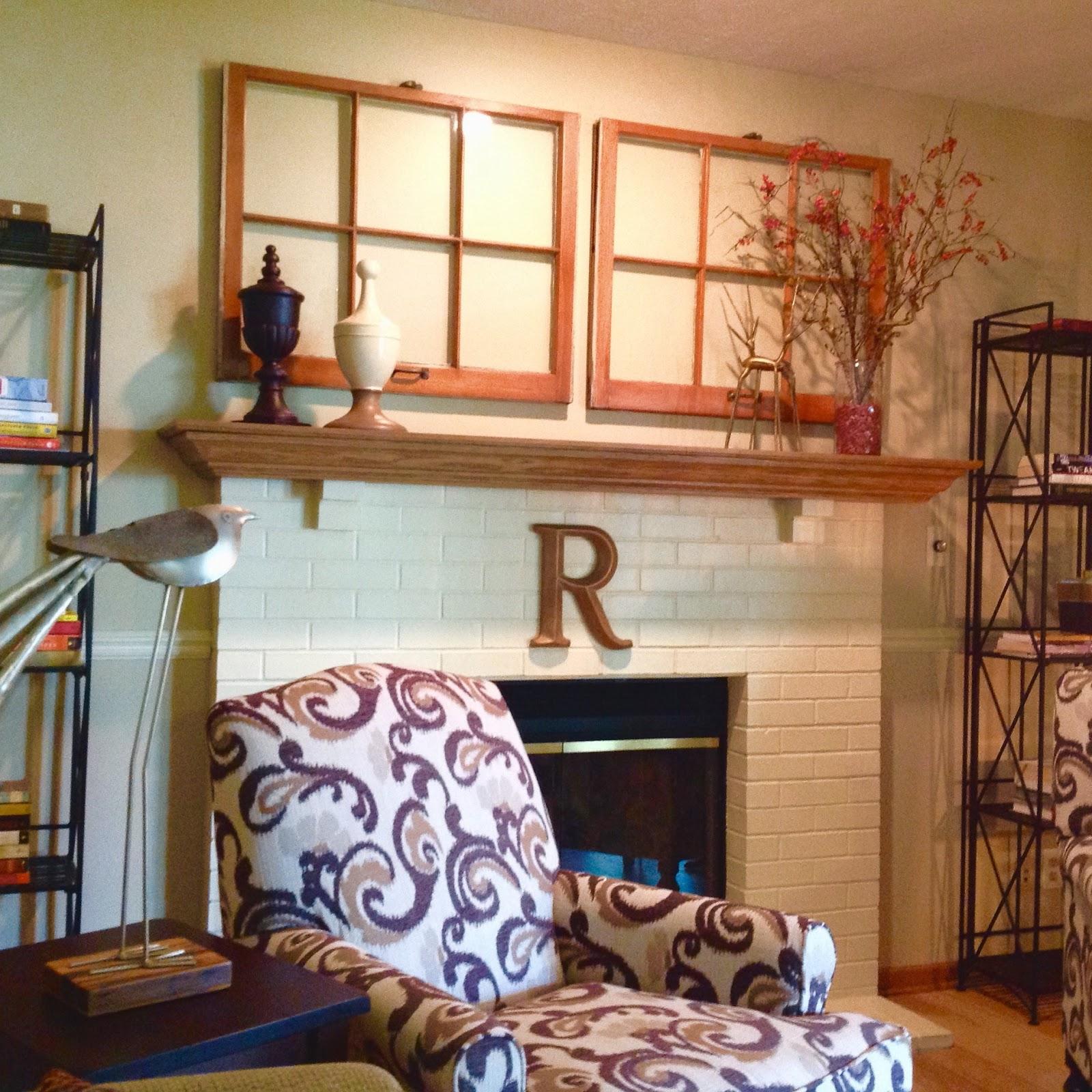 Hearth Room: Renaissance Mermaid: Hearth Room Dressed For Fall