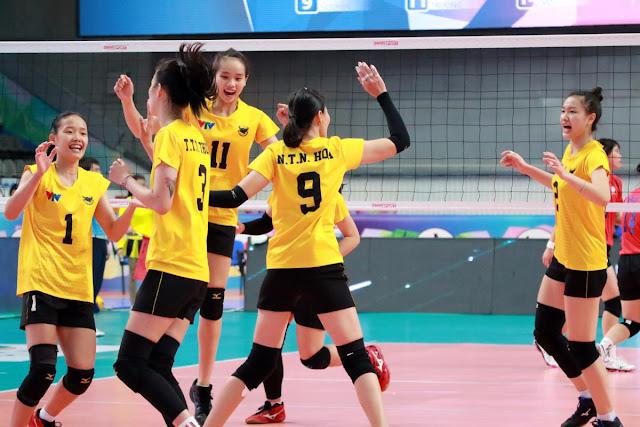 Cúp các CLB nữ vô địch châu Á 2018: VTV Bình Điền Long An thắng CLB CMFC (Đài Loan -TQ)