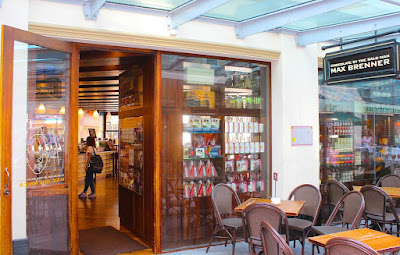 Max Brenner Chocolate Bar Chevron Renaissance