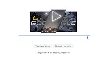 Doodle de Google Halloween
