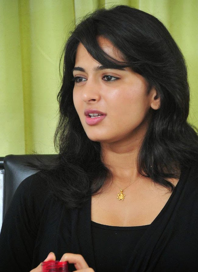 Anushka Shetty in Black Top