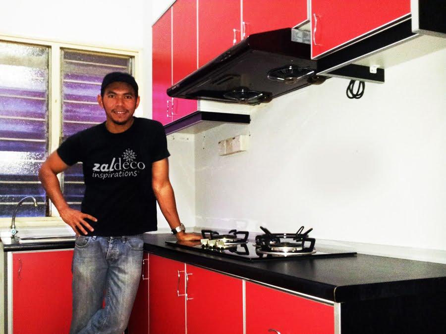 Pemasangan Kabinet Dapur Di Pju P Jaya