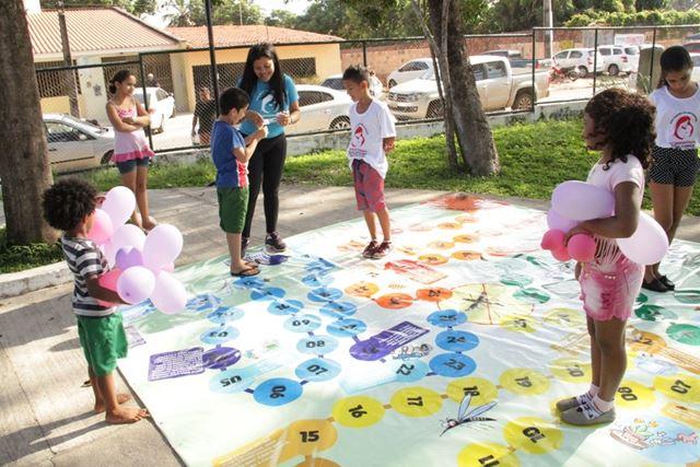 Atividades gratuitas, na Praça Deodoro em comemoração a Semana da Criança
