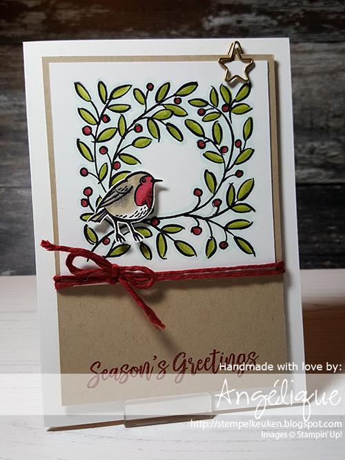 de Stempelkeuken Stampin'Up! producten koopt u bij de Stempelkeuken #stampinup #stampinupnl #feathersandfrost #stampinup30 #bird #robbin #christmas #kerst #ster #star #mistletoe #christmaholic #stamping #stempelen #cardmaking #papercrafting #handmadecards #christmascard #groetjes #gezelligheid #denhaag #westland #rotterdam #amsterdam #cards #scrapbooking #kleurenvoorvolwassenen #inkleuren
