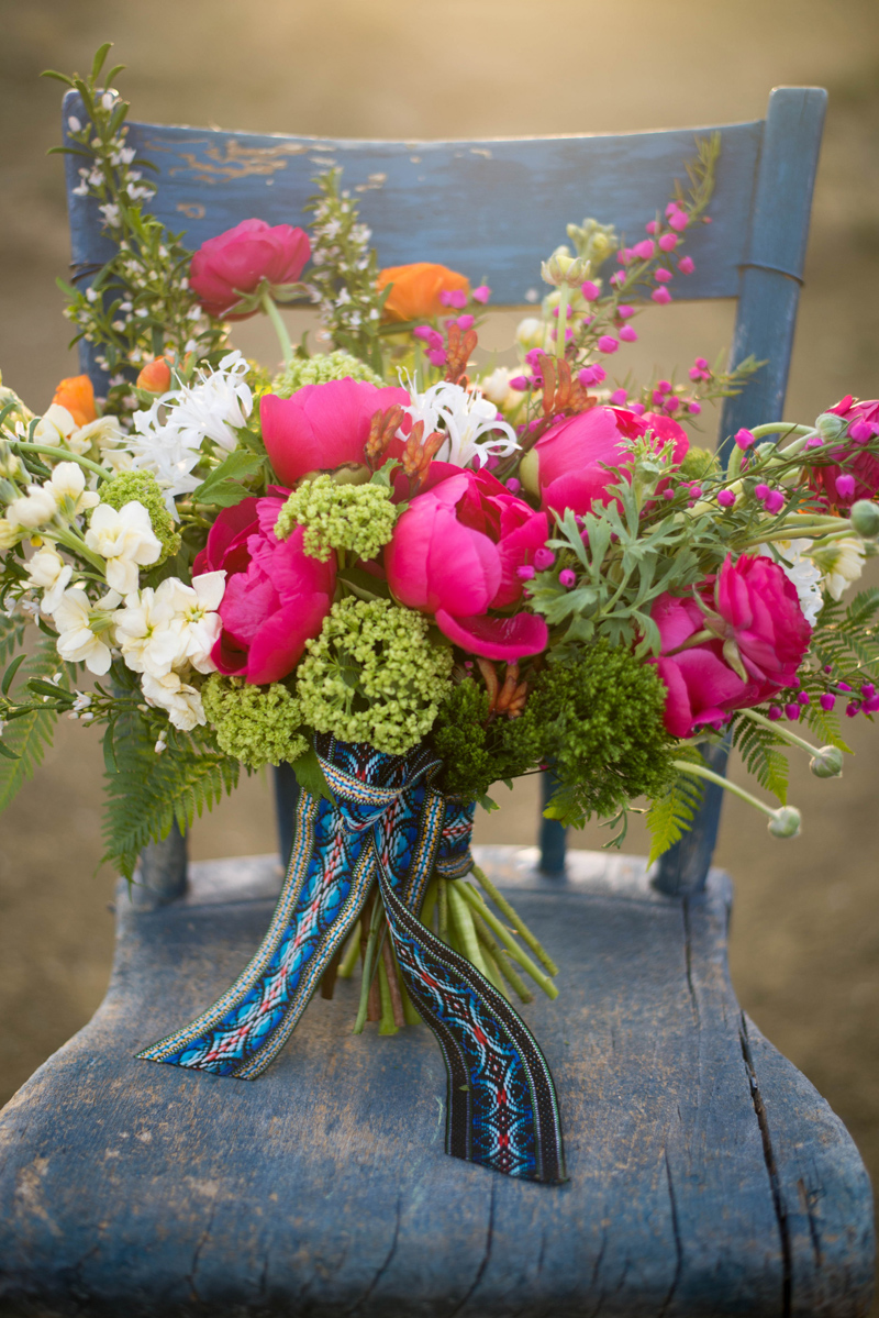 Mexican inspired wedding flowers / Photography: Font & Figure / Floral: Mac's Floral / Rentals: Hutch Event Rentals