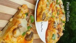 Resep Cara Membuat Pizza Hut Dengan Teflon