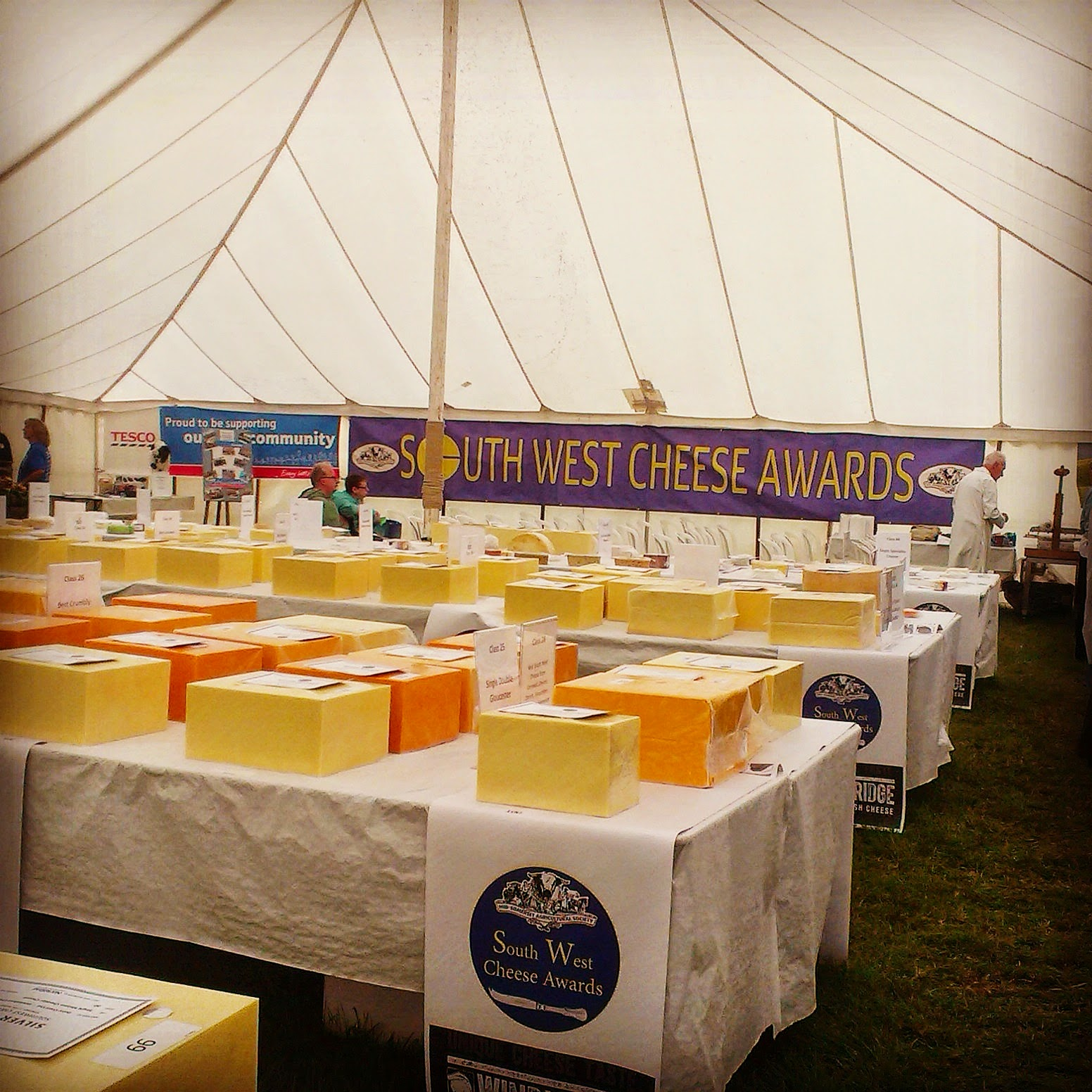 Mid Somerset Show South West Cheese Awards
