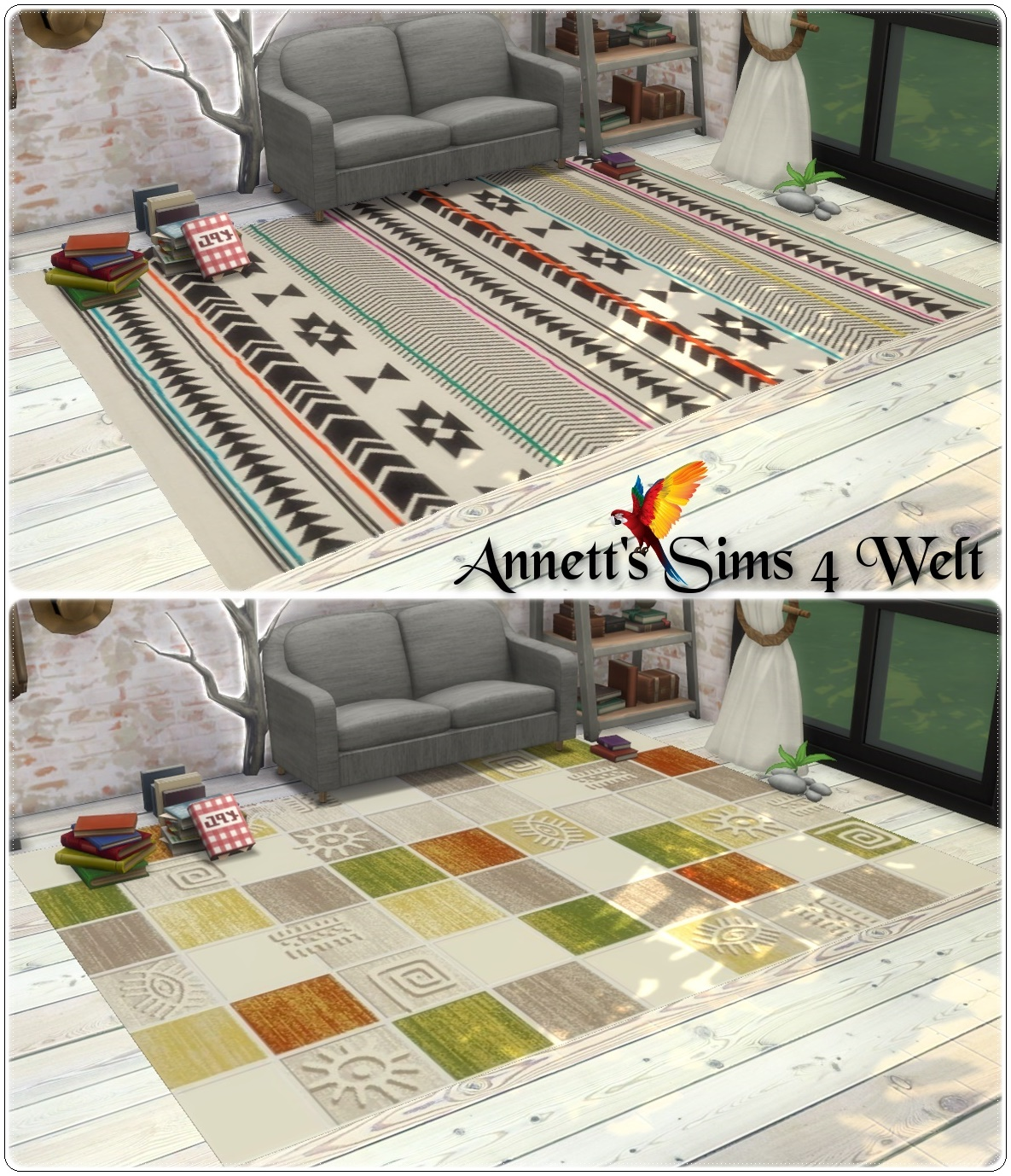 Sims 3 Teppiche Download Sims 4 Cc 39s The Best Collection Rugs Quotmisc Quot By Annett85