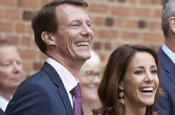 Princess Marie attended a dinner at Egelund Slot