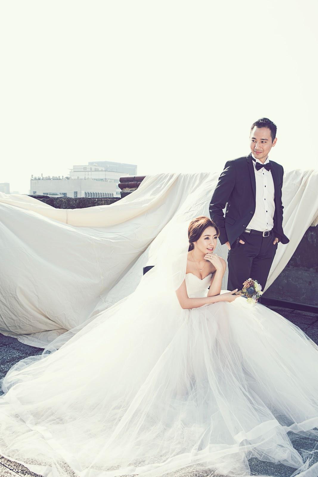 【Josf & Jill's Wedding】週年婚紗 ♥ 唯美電影風格的自助「屋頂婚紗」 - Les Femmes Co.