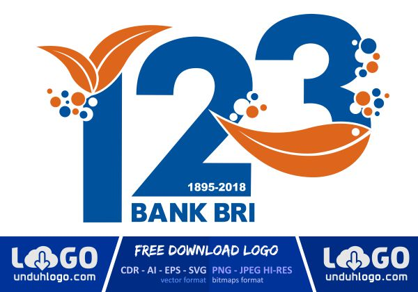 Logo HUT Bank BRI 123