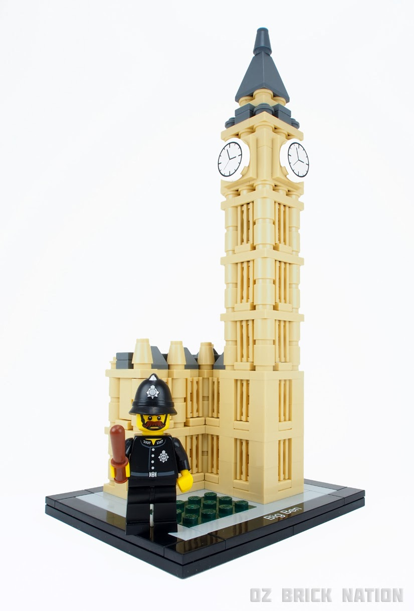 Oz Brick Nation Lego Architecture 21013 Big Ben Review