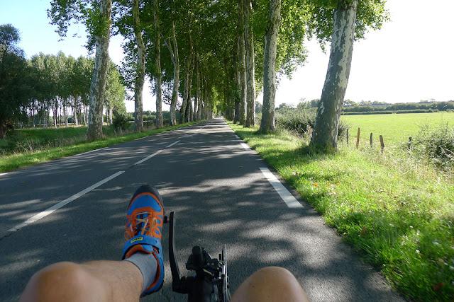 De Paris à Narbonne en vélo, sur la route