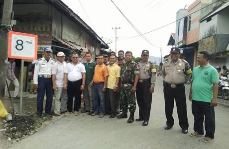 Cegah Kerusakan, Jalan Balah Hilia Dipasangi Rambu Tonase